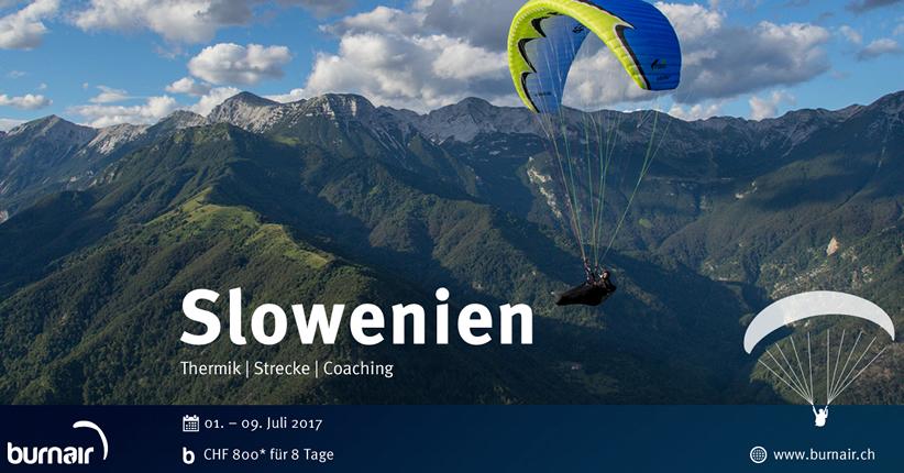 burnair Reise - Slowenien 2017