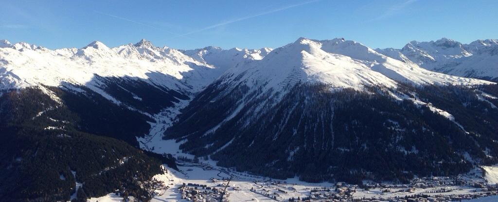 Frühjahresthermik in Davos