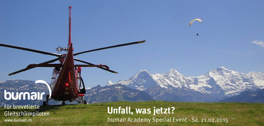 burnair Academy Special Event - Unfall, was jetzt?