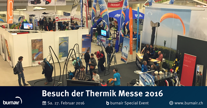 burnair Special Event - Thermik Messe 2016
