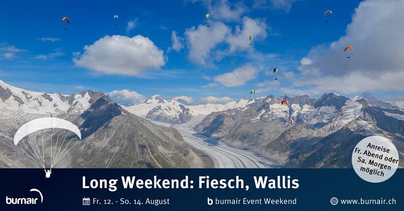 burnair Event Long Weekend - Fiesch 2016