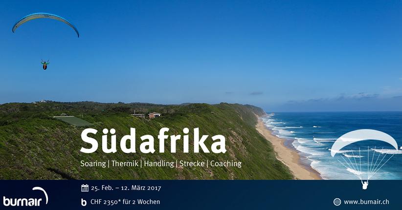 burnair Reise - Südafrika 2017