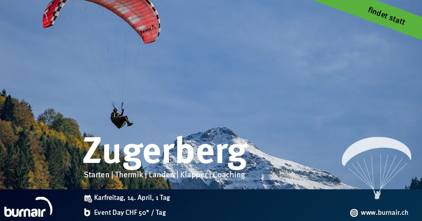 burnair Event Day - Zugerberg - 14. April 2017