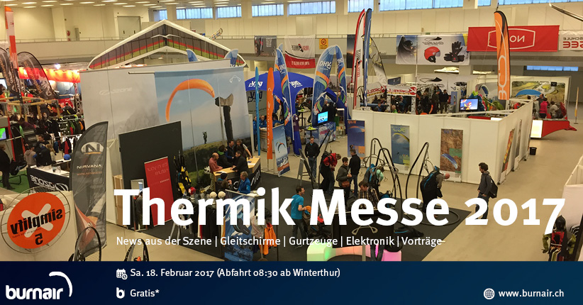 burnair Special Event - Thermik Messe 2017
