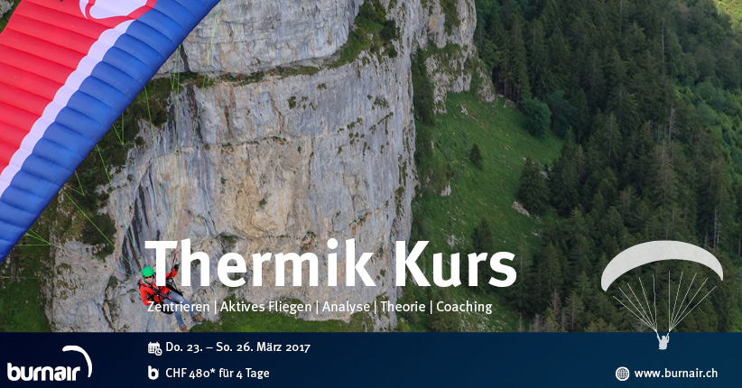 burnair Thermik Kurs – Voralpen