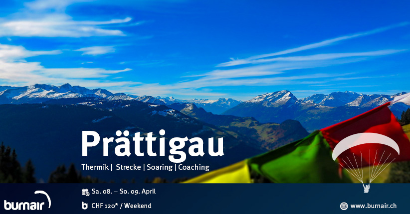 burnair Event Weekend - Prättigau 2017