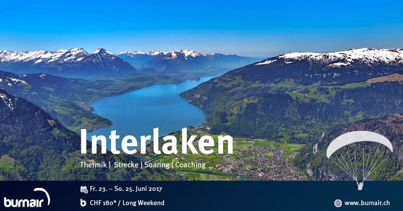 burnair Reise - Berner Oberland 2017
