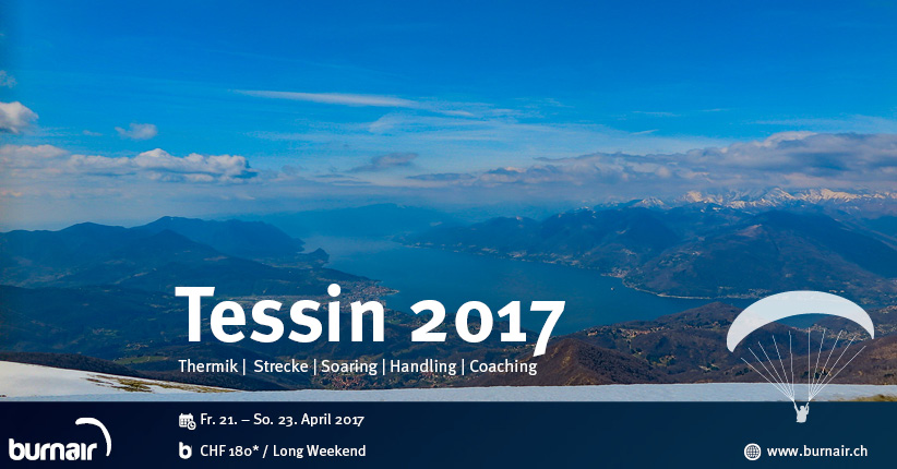 burnair Event Weekend - Tessin 2017