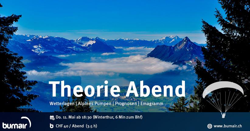 burnair Theorie Abend - Flugwetter in den Alpen (inkl. Talwinde) 2017