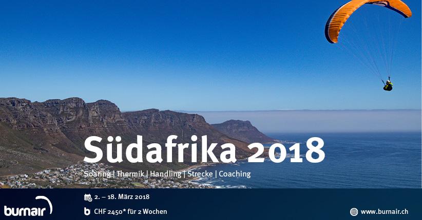 burnair Reise - Südafrika 2018