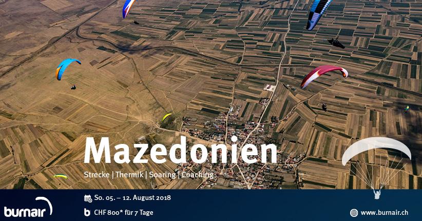 burnair Reise - Mazedonien 2018