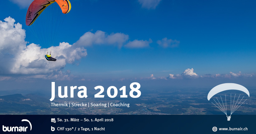 Jura 2018 – burnair Event Weekend