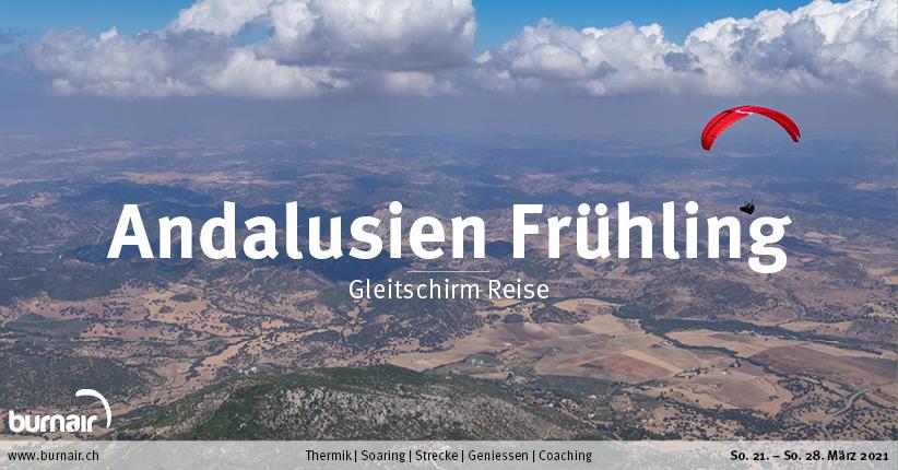 Andalusien Frühling 2021 – Gleitschirm Reise