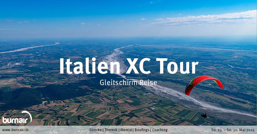 Italien XC Tour 2021 – Gleitschirm Reise