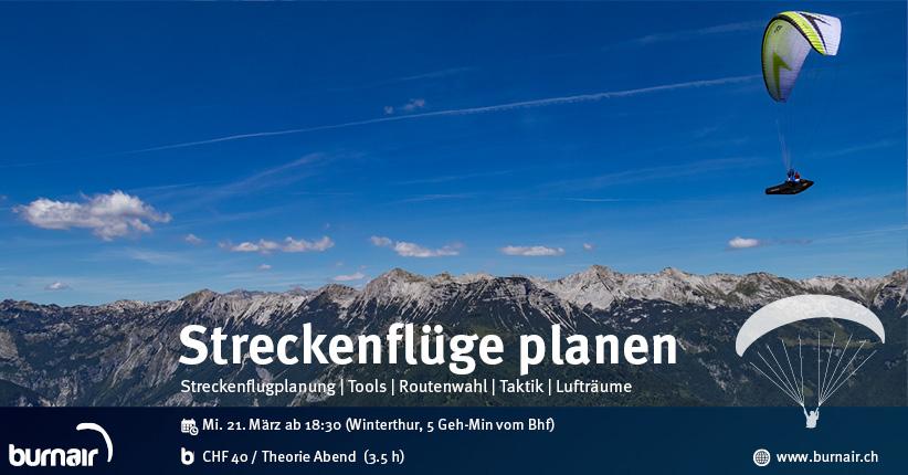 burnair Theorie Abend - Plane deinen Traum-Streckenflug 2018