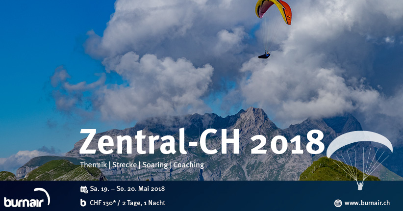 Zentralschweiz 2018 – burnair Event Weekend