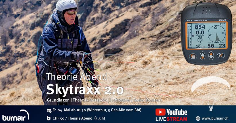 burnair Theorie Abend - Skytraxx 2.0 Freizeitpiloten