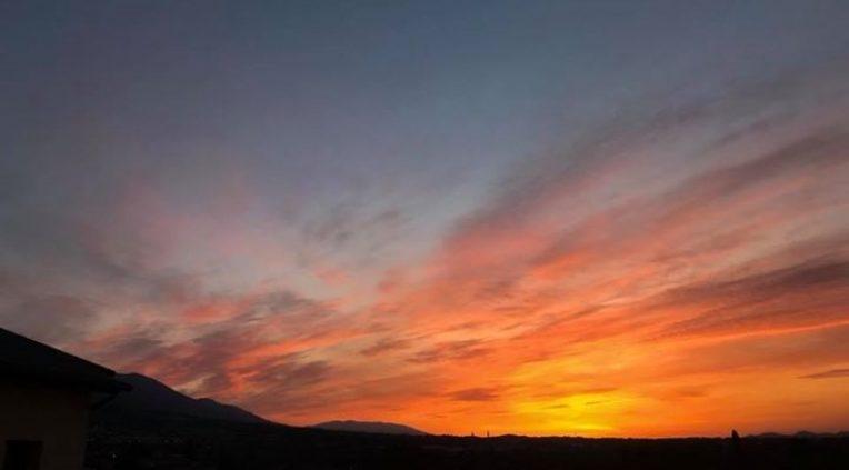 Guten Morgen aus Bassano Heute der letzte Tag der burnair