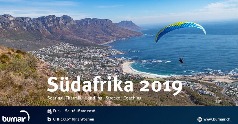 burnair Reise - Südafrika 2019