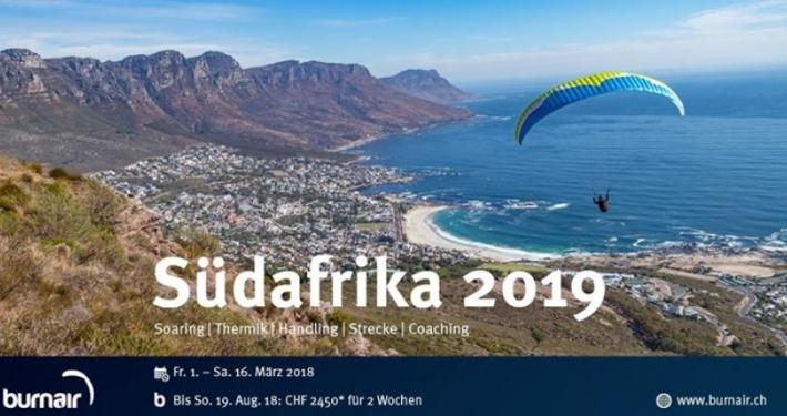 Wie wäre es im März mit burnair nach Südafrika zu