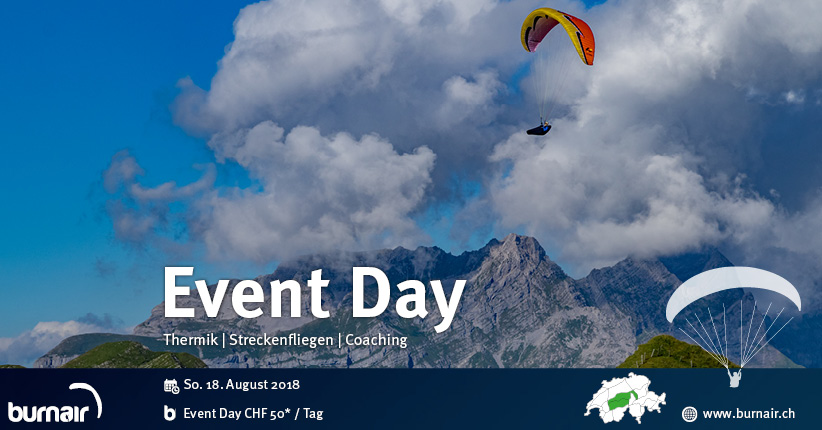 burnair Event Day - 19. August 2018