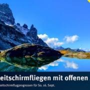 burnair Gleitschirmflugprognosen für Sonntag 16. September 2018 Ein Tag etwas