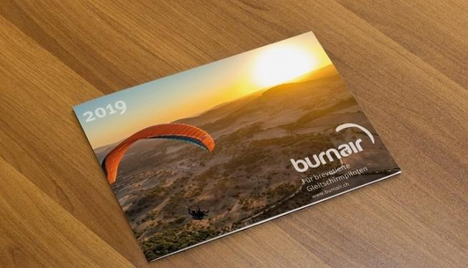 Es ist bald soweit! Der burnair Jahreskalender 2019 ist fast