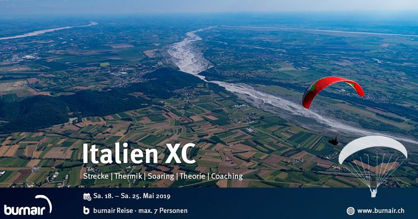 Italien XC 2019 – Streckenfliegen & Pasta