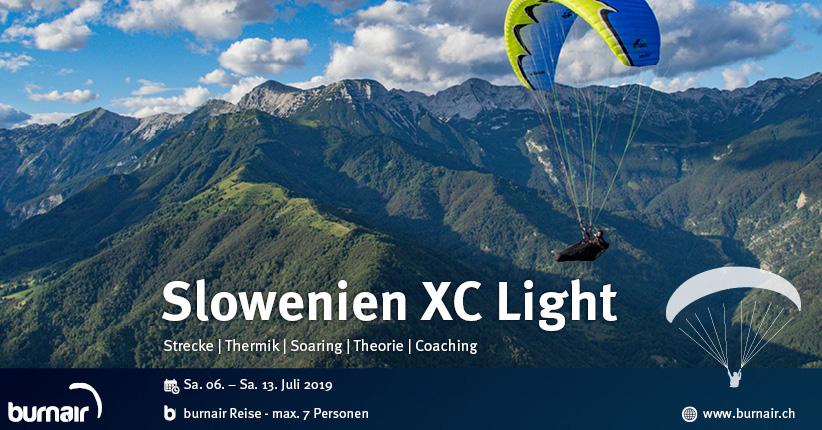 Slowenien XC Light 2019 – Streckenfliegen
