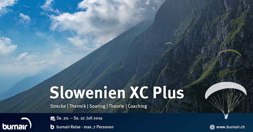 Slowenien XC Plus 2019 – Streckenfliegen