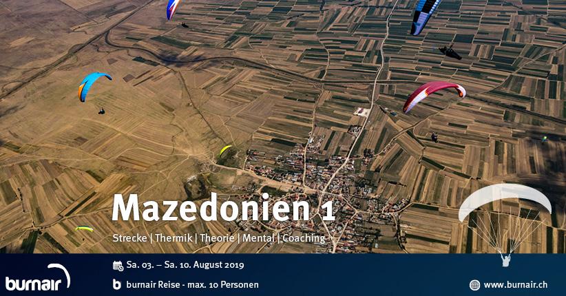 Mazedonien 2019 (1) - Streckenfliegen