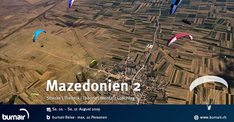 Mazedonien 2019 (2) - Streckenfliegen