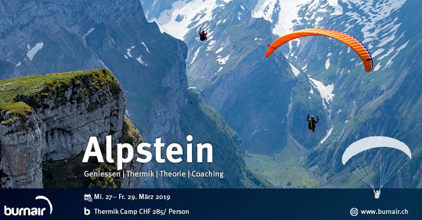 Thermik Camp Alpstein - Flieg länger!