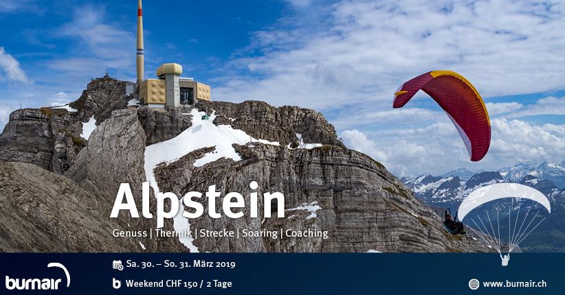 Weekend Alpstein 2019 - Den Alpstein aus der Luft entdecken