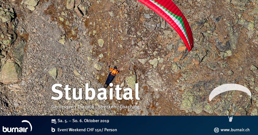 Weekend Stubaital - Herbstliche Flüge