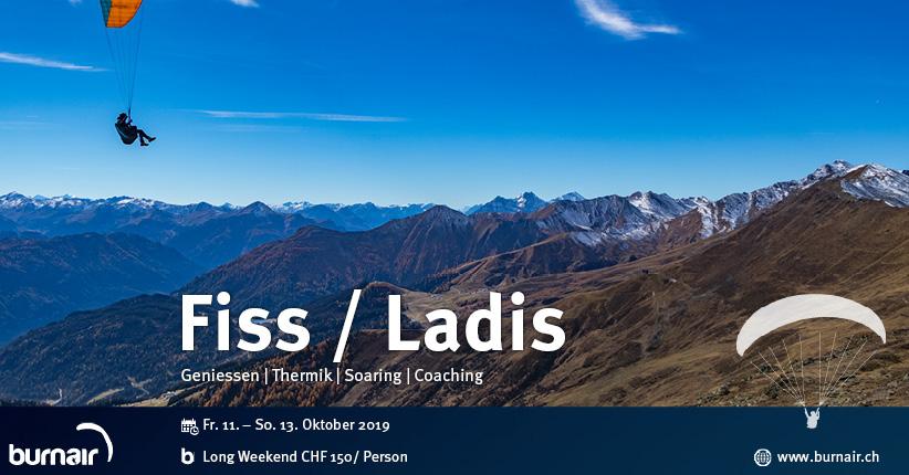 Long Weekend Fiss / Ladis - Die Flugsaison ausklingen lassen
