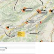 burnair FlyMap zeigt eure geplanten XC Flüge Schaut den Video