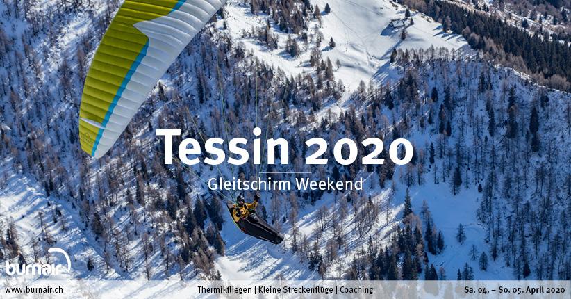 Tessin 2020 – Gleitschirm Weekend
