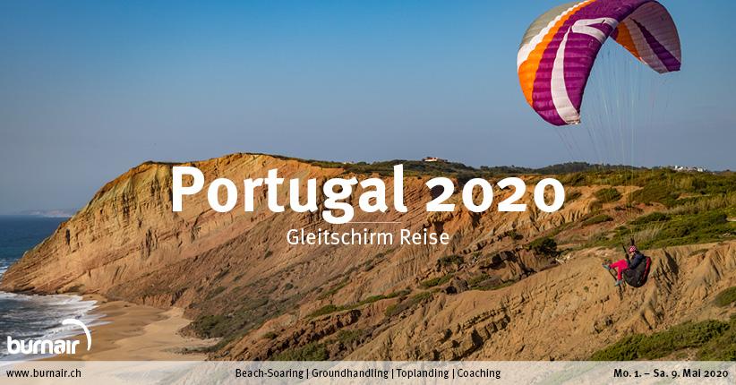 Portugal 2020 – Gleitschirm Reise