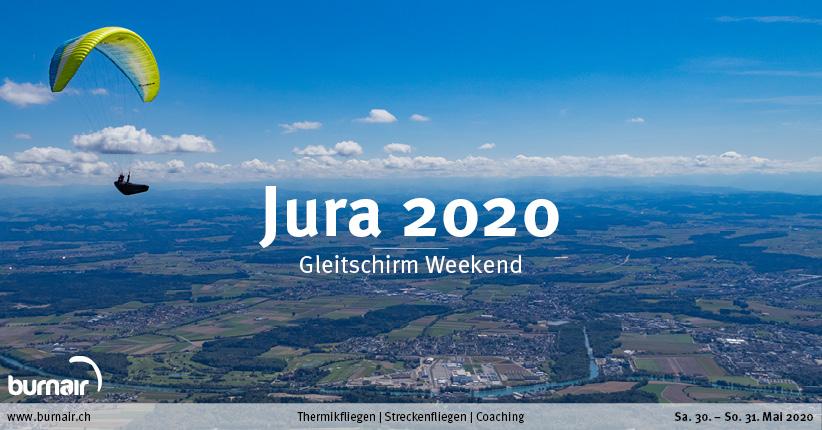 Jura 2020 – Gleitschirm Weekend
