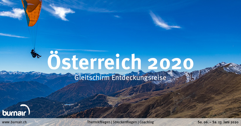 Österreich 2020 – Gleitschirm Entdeckungsreise