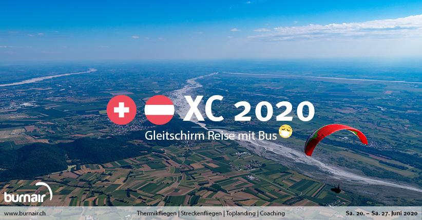Schweiz / Österreich XC 2020 – Gleitschirm Reise