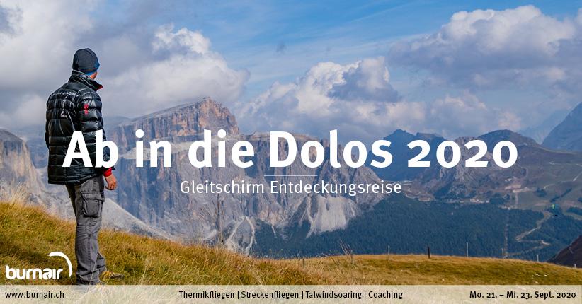 Ab in die Dolos 2020 – Gleitschirm Entdeckungsreise