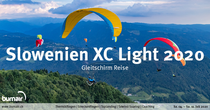 Slowenien XC Light 2020 – Gleitschirm Reise