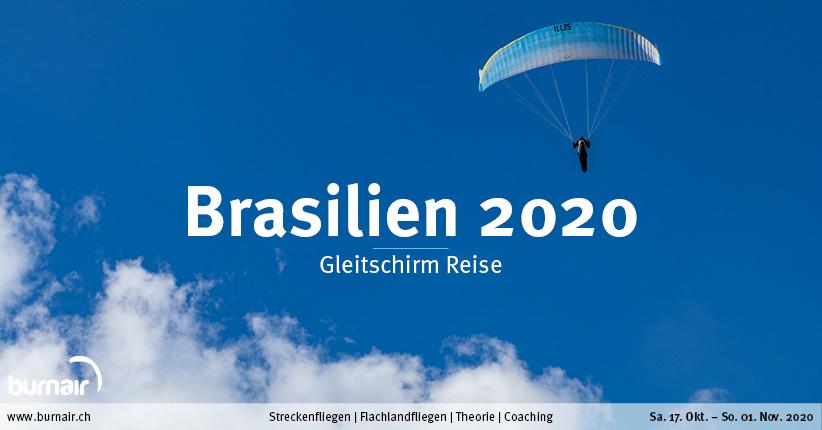 Brasilien XC 2020 – Gleitschirm Reise
