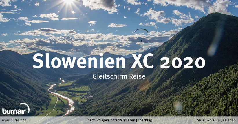Slowenien XC 2020 – Gleitschirm Reise