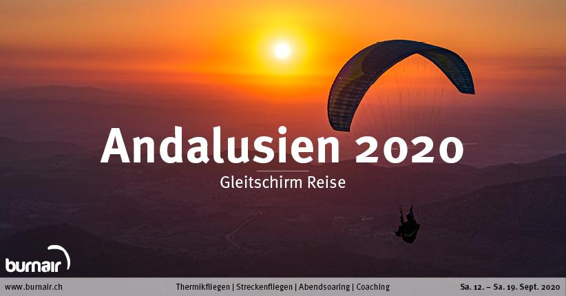 Andalusien 2020 – Gleitschirm Reise