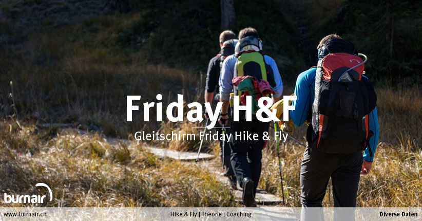 11. September 2020 – Gleitschirm Friday Hike&Fly