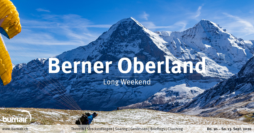 Berner Oberland 2020 – Gleitschirm Long Weekend