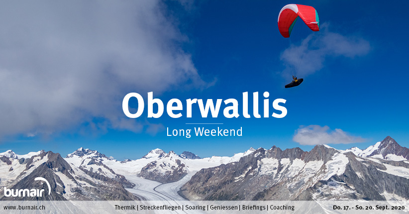 Oberwallis 2020 – Gleitschirm Long Weekend